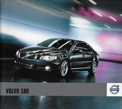 2011 Volvo S80 sales brochure catalog 2nd Edition 11 US 3.2 T6 AWD - $10.00