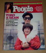 Yoko Ono People Weekly Magazine Vintage 1982 - $24.99