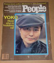 Yoko Ono People Weekly Magazine Vintage 1981 - $24.99