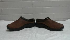 Merrell Women's Moc Jungle Primo Brown Air Cushion Suede Mule Clog Shoes US 7 image 4