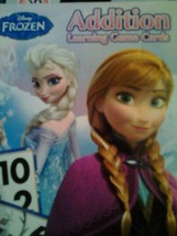 Disney Frozen Addition Learning Game Cards  - $4.75