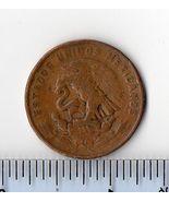 CIRCULATED 1956 20 CENTAVOS MEXICAN COIN - €1,62 EUR
