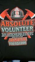 ABSOLUTE FIRE  Firefighter FIREMAN T Shirt--TOP QUALITy print IN STOCK S... - £12.58 GBP+