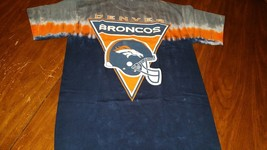 Denver Broncos New Tie Dye Logo T Shirt  Nfl Team Apparel - $24.99