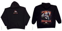 DENVER BRONCOS  New with tags RUNNING BACK HOODIE SWEATSHIRT  BLACK shir... - $54.44+