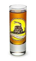 """DON'T TREAD ON ME"" WITH SNAKE- NEW-  2 OZ. SHOT GLASS - €8,60 EUR+"