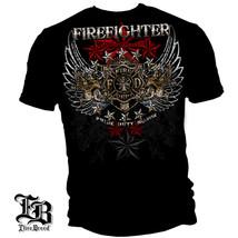 ELITE BREED FIREFIGHTER - PRIDE, DUTY, HONOR - T-SHIRT  - £13.67 GBP+