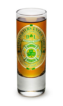 "FIREFIGHTER TRIBUTE - ""IRELAND'S BRAVEST""- NEW-  2 OZ. SHOT GLASS - $12.74 CAD+"