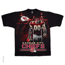Kansas City Chiefs  New With Tags Tunnel T Shirt Black Shirt Nfl Team Apparel - $22.99