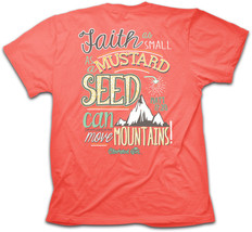 New CHERISHED GIRL T SHIRT FAITH AS SMALL AS A MUSTARD SEED  Kerusso - $16.99+