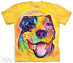 New HAVE PITTIE PIT BULL T SHIRT RUSSO SHIRT - £11.67 GBP - £23.51 GBP
