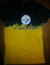 Pittsburgh Steelers Womens Juniors  Petite Tie Dye  T Shirt Nfl Licensed Awesome - $24.99