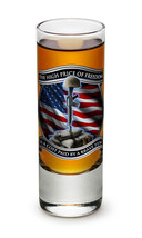 """THE HIGH COST OF FREEDOM IS A COST PAID  BY BRAVE FEW- NEW-  2 OZ. SHOT... - €8,60 EUR+"