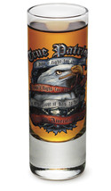 """TRUE PATRIOT- I AM AN AMERICAN SOLDIER""- NEW-  2 OZ. SHOT GLASS - $12.74 CAD+"