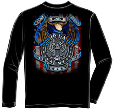 TRUE HEROS AMRY-  LICENSED LONG SLEEVE T Shirt PATRIOTIC USA - $23.99+