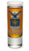 US AIRFORCE WITH EAGLE-- NEW-  2 OZ. SHOT GLASS - $12.74 CAD+