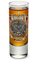 US ARMY- SERVICE, HONOR, SACRIFICE- NEW-  2 OZ. SHOT GLASS - €8,60 EUR+