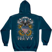 United States NAVY THE SEA IS OURS  HOODED HOODIE SWEATSHIRT- USN - $39.99+
