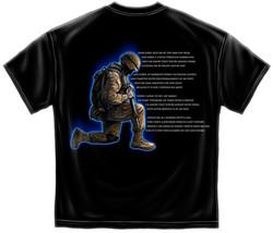 New SOLDIERS PRAYER T SHIRT - £12.95 GBP+