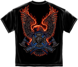VOLUNTEER FIRE EAGLE  T-SHIRT  - £12.95 GBP+