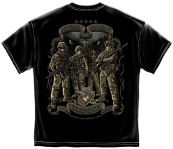Usmc Time Honored Tradition Marines And Eagle T-SHIRT - $17.81+