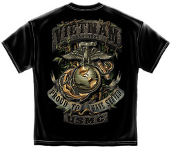 VIETNAM- PROUD TO HAVE SERVED- USMC T-SHIRT - $19.99+