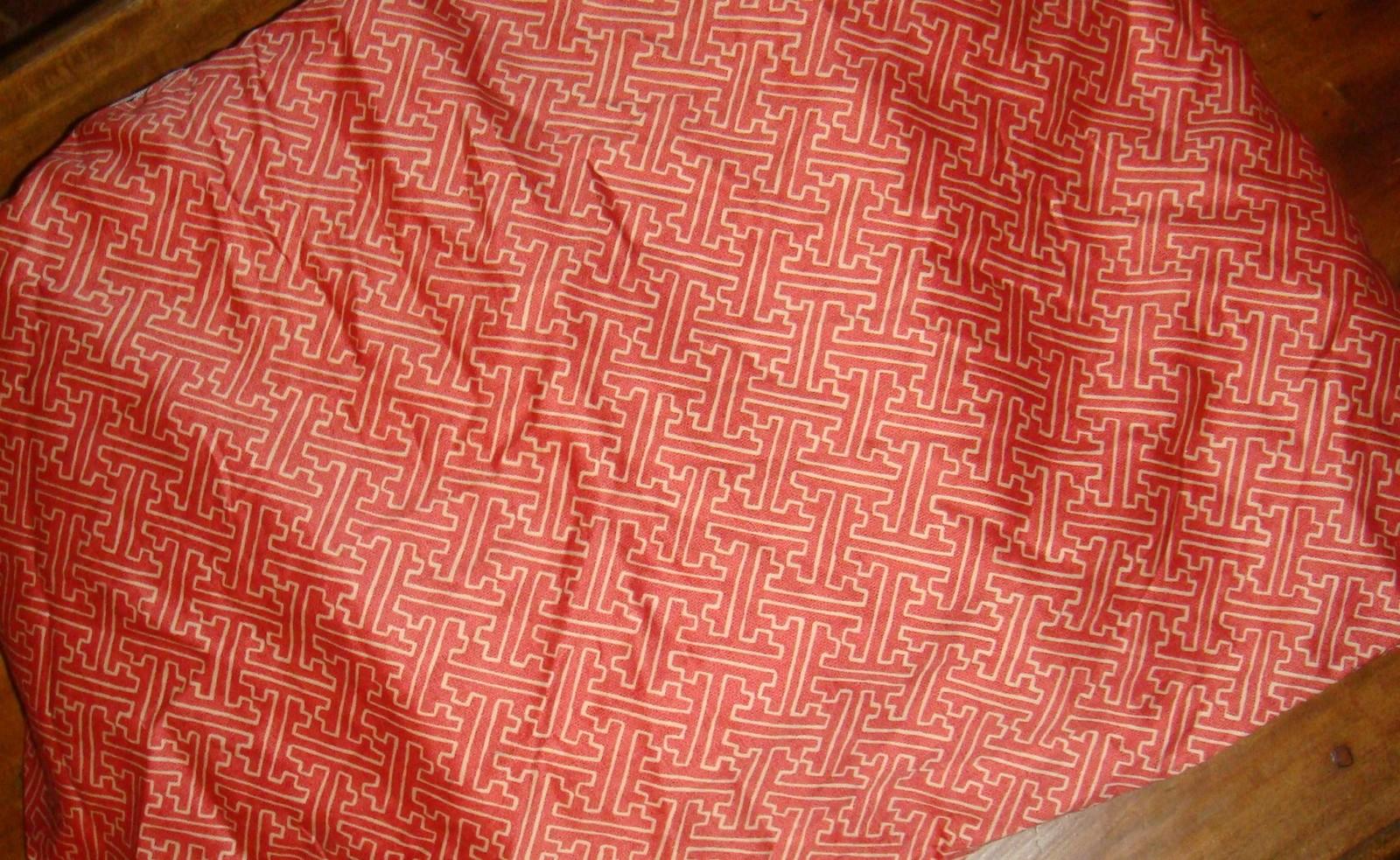 Ralph Lauren Villa Camelia King Bedskirt Fretwork 18 Inch Drop Tailored Bed Skirts
