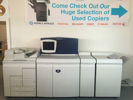 Xerox Nuvera 100 Digital Copier Printer with Booklet finisher & Document... - $4,950.00