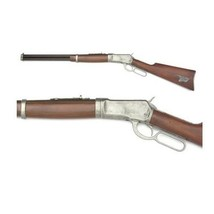 Old West RE-ENACTORS Replica M1892 Banded Lever Action Rifle Non-Firing Gun - $229.95