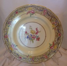 Royal Doulton China Antique Hand-painted 1930 Gilded Cabinet Plate By R. Allen - $39.98