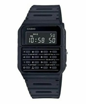 Casio CA53WF-1B Calculator Black Digital Men's Watch - $34.64