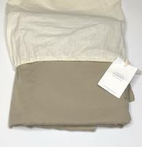 Restoration Hardware Garment-Dyed Sateen Duvet Cover Twin Prairie NEW $295 - $109.99