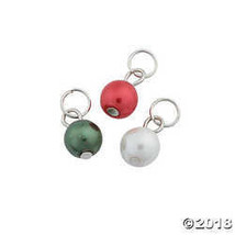 Christmas Bead Dangles - $8.11