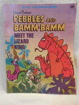 Flintstones 1976 Modern Promotions Giant Coloring Book Pebbles and Bamm-... - $6.95