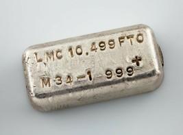 Lmc .999 + Fein Silber 10.499 Troy Oz. Loaf Verbindung Schöne Vintage Gi... - $548.86