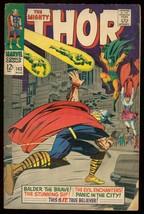 THOR #143 1967 MARVEL COMICS BALDER THE BRAVE KIRBY ART G/VG - $18.62