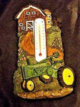Authentic John Deere Farm Scene Thermometer AA18-JD0039 image 6