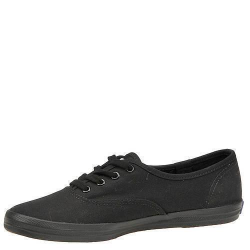 Keds WF59206 Women's Shoes Champion Sateen Black, 9 Med