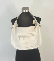 Coach Ivory Leather Shoulder Bag Purse  - $60.00
