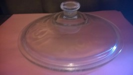 "7 1/2"" Round Clear Glass Lid 406 - $8.50"