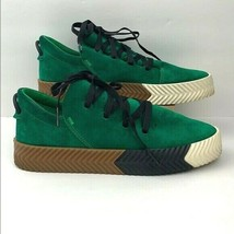 Adidas AW Alexander Wang Skate Sneakers Low Green Chalk Shoes Mens 7.5 - $163.61