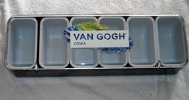 NEW VAN GOGH VODKA BAR CONDIMENT CADDY TRAY HOLDER LIMES LEMONS GARNISH - $42.52