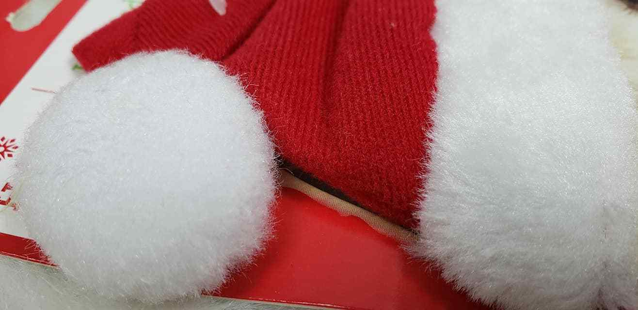 NEW ~ Holiday Time Dog Cat Red Santa Hat & Scarf image 3