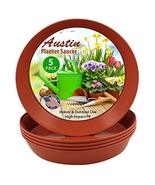 Austin Planter 16 Inch (14.2 Inch Base) Case of 5 Plant Saucers - Terra ... - $31.36