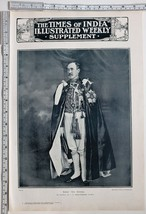 1911 INDIA PRINT SIR T. GIBSON-CARMICHAEL MADRAS NEW GOVERNOR - $102.66