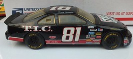 Kenny Wallace 81 1995 1:24 TIC Financial Diecast Vintage NASCAR Ford Thu... - $19.88