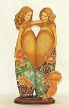 Blooming Wild Two Of Us Figurine Karen Hahn Enesco 4001754 Sisters Friends - $34.60