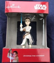 "The Force Awakens REY STAR WARS Hallmark Christmas Tree Ornament 3.5"" New - $9.89"