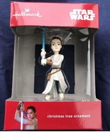 "The Force Awakens REY STAR WARS Hallmark Christmas Tree Ornament 3.5"" New - $9.89"