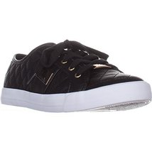 G by GUESS Backer2 Women's Lace-Up Sneakers Shoes (9, Black)